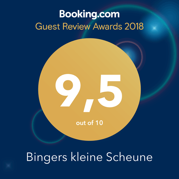 Guest Review Award 2018 - Booking.com